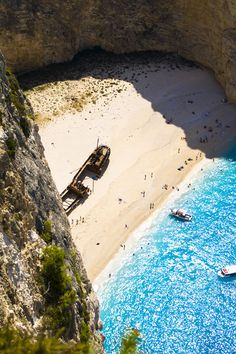 Navagio Bay and Shipwreck of the Panagiotis at 'Smugglers Cove', Zakynthos, Greece