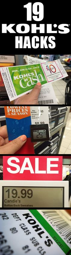 19 (Surprising) Ways to Save Money at Kohls!