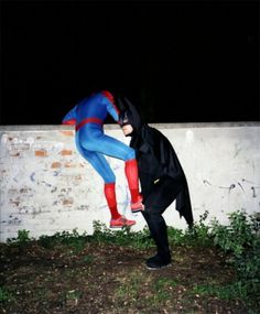 even super heroes need at little help