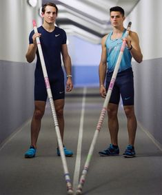 Valentin and Renaud Lavillenie