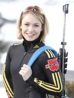 Magdalena Neuner. Hottest olympian ever.