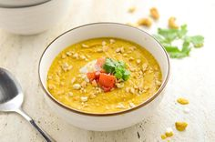 Carrot Peanut Soup ||| The Best Superfood Soups You Can Make In 30 Minutes Or Less