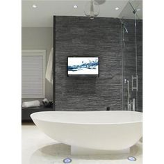 Relaxing Contemporary Bathroom by Nathalie Tremblay