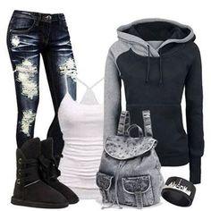 Jeans, Sweatshirts & Boots Season