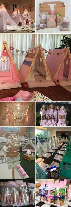 I wouldn't actually do this for my birthday slumber party maybe for girls much younger....