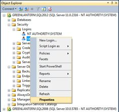 Recover access to a SQL Server instance
