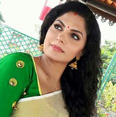 Asha Sarath, Malayalam Actress, Sari, Actresses, Womens Fashion, Cute, Beauty, Beautiful, Faces