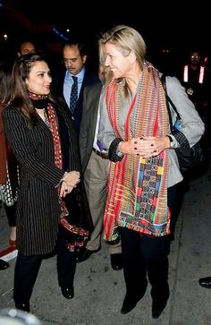 Feb. 8, 2016, Queen Maxima of the Netherlands for a 3 day visit to Pakistan as a special advocate of the Secretary-General of the United Nations for inclusive finance for development.