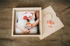 Fotobox für Hochzeitsalbum