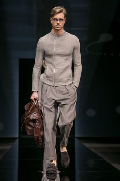 Mr. Armani's spring 2017 collection.