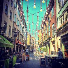 Or St Christopher's Place. | 16 Things Londoners Want Tourists To Know