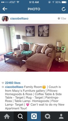 This how I want my apartment to be just like hers!