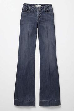 Level 99 Wide-Leg Trousers - anthropologie.com