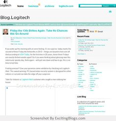 Blog.Logitech - Click to visit site:  http://1.33x.us/AsPCyd