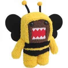 """Domo 6.5\"""" Plush: Bee Kigurumi"""