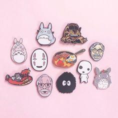 Lego, Jacket Pins, Cool Pins, Pin And Patches, Metal Pins, Disney Pins, Pin Badges, Studio Ghibli, Lapel Pins