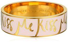"kate spade new york ""Idiom"" Work Your Magic Hinged Bangle Bracelet, Bangle Bracelets, Bangles, Feel Unique, Kate Spade, Honey, Magic, Make It Yourself, York, Jewellery"