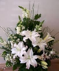flower arrangements for church weddings - Google Search