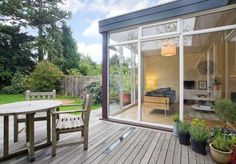 Westfield, Ashtead, Surrey — The Modern House Estate Agents: Architect-Designed Property For Sale in London and the UK Townhouse Interior, Three Bedroom House, Enclosed Patio, Roof Window, Surrey, Nice View, Property For Sale, Architecture, Houses