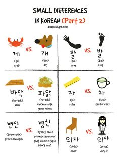 Small Differences in Korean (Part 2) #Language