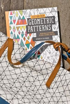 Just Add Color: Geometric Patterns Lisa Congdon coloring book