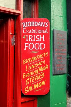 Traditional Irish food by Misty Garrick Miller, via Flickr