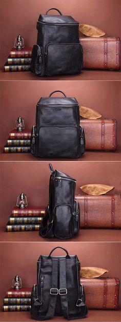 Briefcase For Men, Mens Essentials, Pocket Square, Fashion Backpack, Cufflinks, Mens Fashion, Backpacks, Wallet, Leather