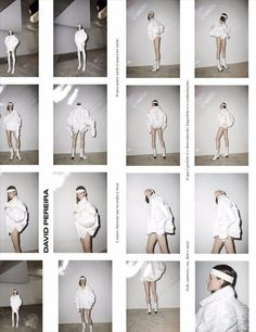I like the boarders & having the titles in the boarders. Could do that and have some hanging off of them/cut off Editorial Layout, Editorial Design, Editorial Fashion, Editorial Photography, Photography Poses, Fashion Photography, Lookbook Layout, Lookbook Design, Viviane Sassen