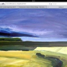 Work of North Wales artist Bill kneale