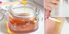 Want a natural wax to get rid of body hair and ensure that you have smooth skin? One of the easiest ways to to use honey wax. Sugaring Hair Removal, Natural Hair Removal, Hair Removal Diy, Waxing Tips, Sugar Waxing, Diy Wax, Body Hacks, Unwanted Hair, Smooth Skin