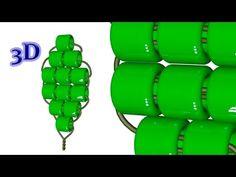 Параллельное низание бисером. 3D - урок - YouTube
