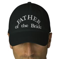 6ce69c40756 Father of the Bride Embroidered Baseball Cap