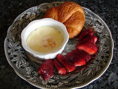 Lovely French-style breakfast