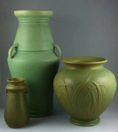 ◭ Penchant for Pottery ◮ Selden Bybee Pottery - Arts  Crafts style