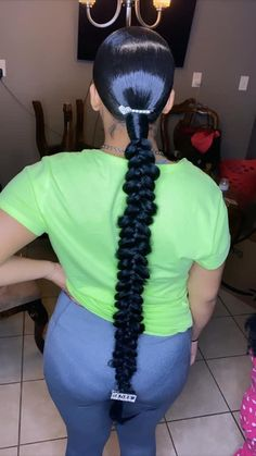braided hairstyles for natural hair hairstyles middle part hairstyles for little black girls hairstyles black woman 2018 hairstyles thin hair evening hairstyles hairstyles black girl hairstyles to the scalp Hair Ponytail Styles, Weave Ponytail Hairstyles, Black Girl Braided Hairstyles, Sleek Ponytail, Baddie Hairstyles, Hairstyles Videos, Short Hairstyles, Cute Prom Hairstyles, Saree Hairstyles