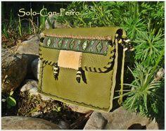 ° AWANATA ° Leder Gürteltasche Hüftbag UNIKAT von °  Solo-Con-Perro ° auf DaWanda.com