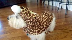 Support your local Westie Rescue, even those with little giraffes.