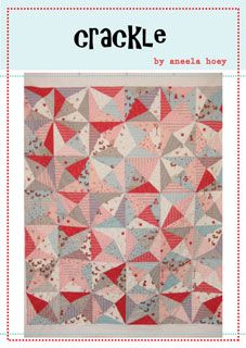 Aneela Hoey Crackle Quilt - Downloadable Pattern - $8.00 : Pink Chalk Fabrics is your online source for modern quilting cottons and sewing patterns. Cloth, Pattern + Tool for Modern Sewists