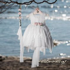 Vinte Li - Βαπτιστικό φόρεμα, κωδ. 2820 Girls Dresses, Flower Girl Dresses, Wedding Dresses, Fashion, Dresses Of Girls, Bride Dresses, Moda, Bridal Gowns, Fashion Styles
