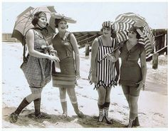vintage everyday: Mack Sennett Bathing Beauties, ca. 1910s-20s