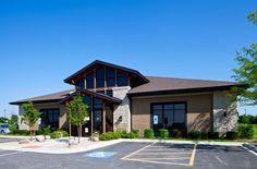 #Veterinary hospital exterior - 2014 Veterinary Economics Hospital Design People's Choice Award - Oswego Animal Hospital, Oswego, Ill. - dvm360