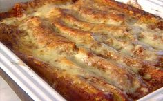 Beef and cheese canneloni Recipe by Giada De Laurentiis