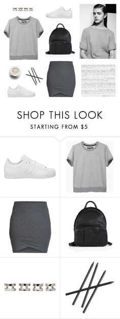 """Sneaker Style"" by bellamarie ❤ liked on Polyvore featuring adidas, rag & bone/JEAN, Matteo, ONLY, Alexander Wang, Maison Margiela and CB2"