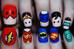 Justice League nail set! woo