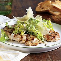 Chicken Paillards with Romaine Caesar Slaw | MyRecipes.com Susie says:  I've made this a few times!  Very easy and tasty