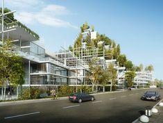 Architensions es preseleccionado para el diseño de un 'Centro Cívico Vegetal' en Sydney, Australia,Cortesía de Architensions