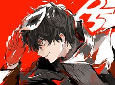 persona 5 image on We Heart It Persona 5 Joker, Persona 4, L Death, Shin Megami Tensei Persona, Akira Kurusu, Video Game Art, Video Games, Manga Boy, Anime Guys