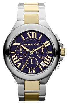 Michael Kors 'Camille' Chronograph Bracelet Watch available at #Nordstrom