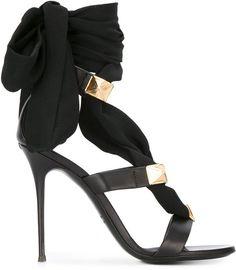 Giuseppe Zanotti Design ribbon stiletto sandals #giuseppezanottiheelsstilettos