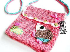 Ravelry: Meet me at the Meadow - purse pattern by Vendula Maderska. $4.90 for pattern 6/14.